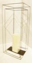Lanterna 50 cm Ferro Duplo - Occa Moderna cód: 34885