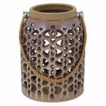 Lanterna Gimboya Cerâmica 26cm - Occa Moderna cód: 38204