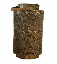 Lanterna Metal Dourada 33cm - Occa Moderna cód: 37667