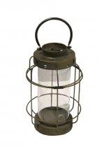 Lanterna Metal Dourada 44cm - Occa Moderna cód: 37517