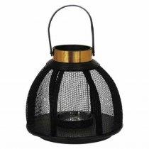 Lanterna Metal Preta 29cm - Occa Moderna cód: 38227
