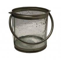 Lanterna Vidro 17cm - Occa Moderna cód: 37477